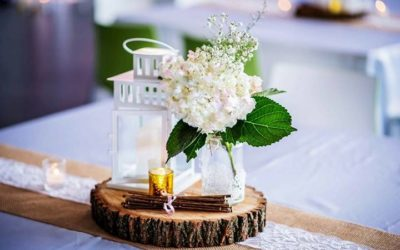 How to make wedding centrepieces the centre of attention